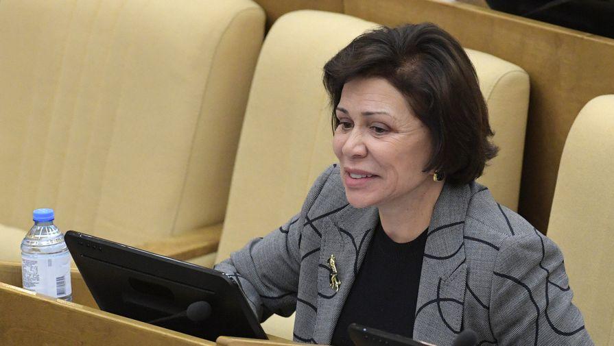 Заместитель председателя комитета Государственной Думы РФ по международным делам Ирина Роднина