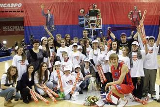 Кириленко отметил день рождения победой над «Триумфом»