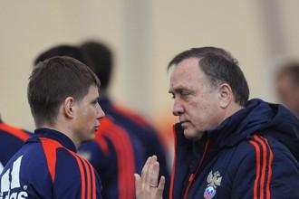 Андрей Аршавин расстроен заявлением Адвоката об уходе из сборной