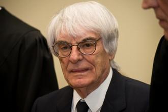Руководитель «Формулы-1» Берни Экклстоун