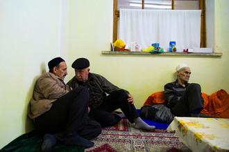 В мечети Хан-Чаир