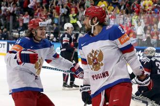 Александр Овечкин забросил красивую шайбу в ворота сборной США
