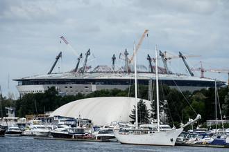 Так на данный момент выглядит главный долгострой отечественного спорта — «Зенит-Арена»