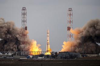 Запуск ракеты-носителя «Протон-М» (фото из архива)