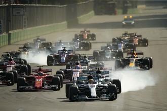 Хэмилтон и Феттель поссорились на Гран-при Азербайджана
