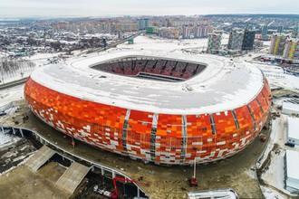 Стадион чемпионата мира 2018 года по футболу «Мордовия Арена» в Саранске