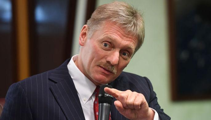 Песков рассказал о встрече Путина с кандидатом Мариани