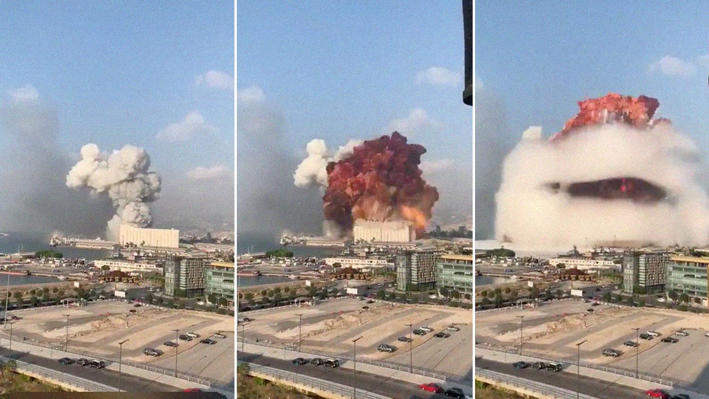 Сейсмологи: взрыв в Бейруте был эквивалентен землетрясению магнитудой 4,5 - Газета.Ru | Новости