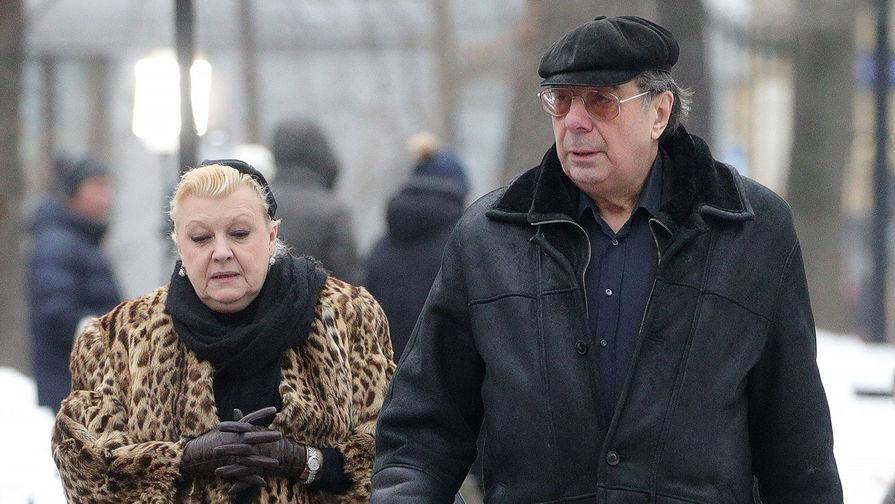 Наталья Дрожжина и ее супруг Михаил Цивин