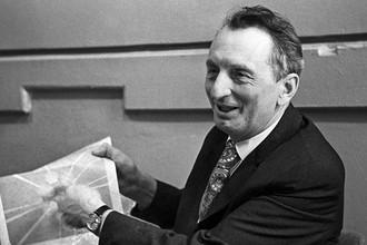 Лауреат Нобелевской премии по физике 1964 года академик Александр Михайлович Прохоров