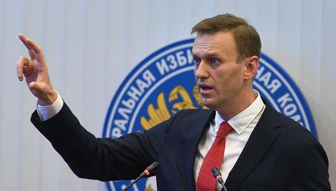 Алексей Навальный на заседании Центральной избирательной комиссии РФ, 25 декабря 2017 года