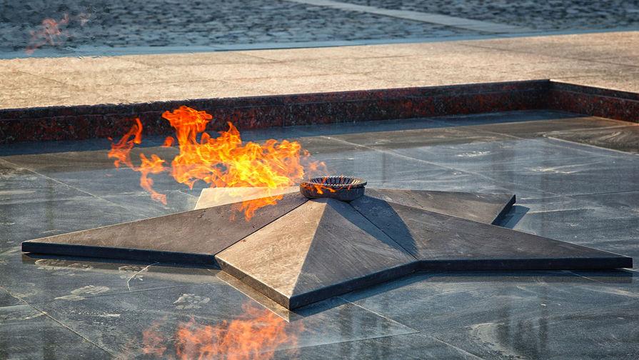 В Петербурге подростки забросали снегом Вечный огонь