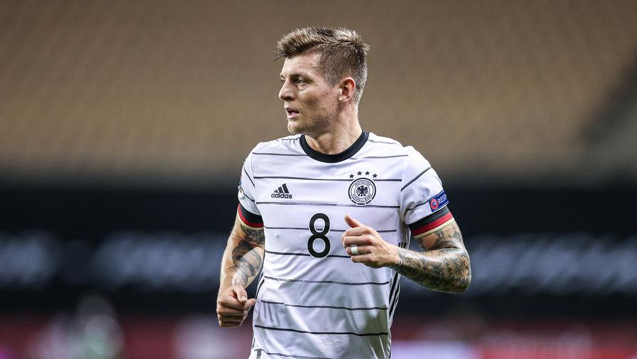 Полузащитник сборной Германии Тони Кроос