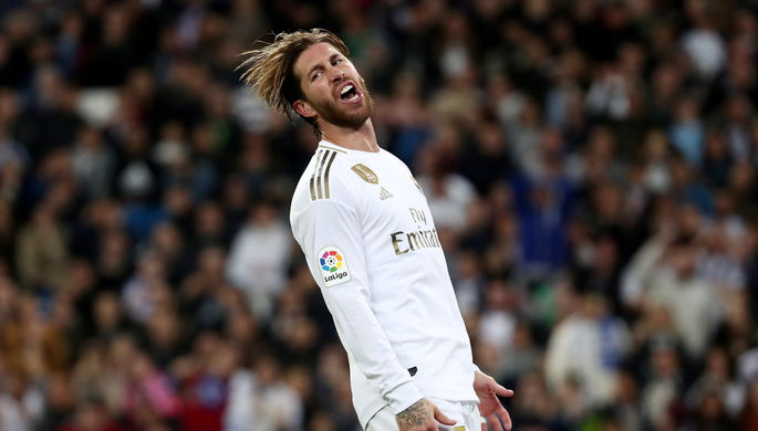 Серхио Рамос в составе мадридского «Реала»