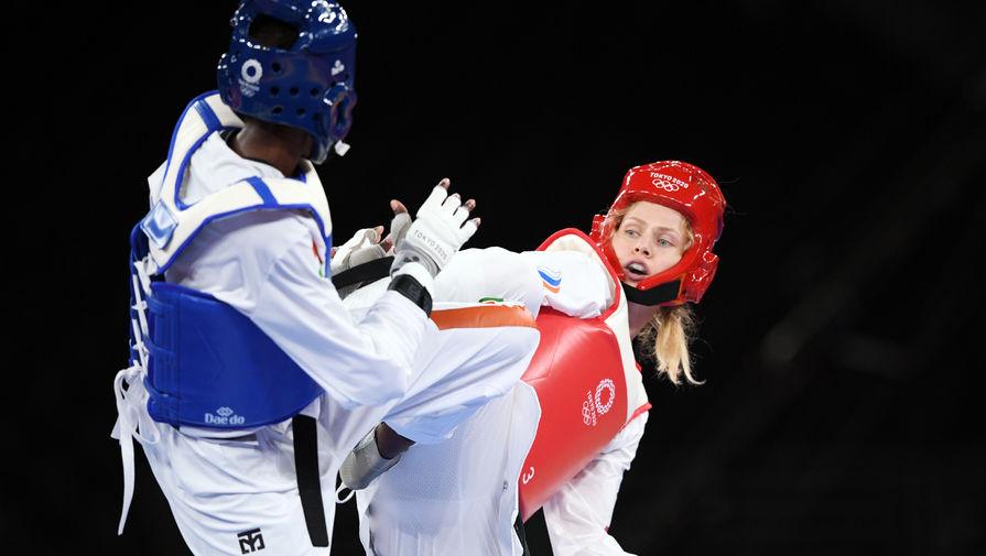 Российская медалистка Игр в тхэквондо заявила, что тренировалась в спаррингах с мужем