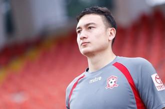 Лев Данг во время матча чемпионата Вьетнама за «Хайфон»