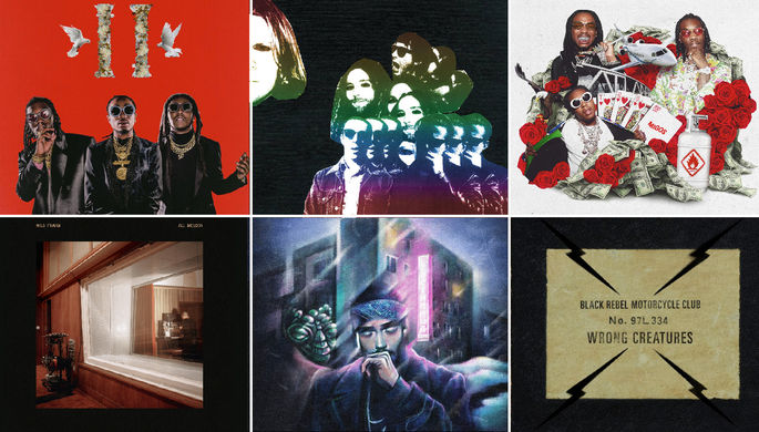 Альбомы января: Migos, BRMC и другие