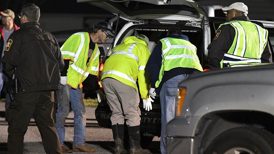Спасательная операция после мощного торнадо в Алабаме