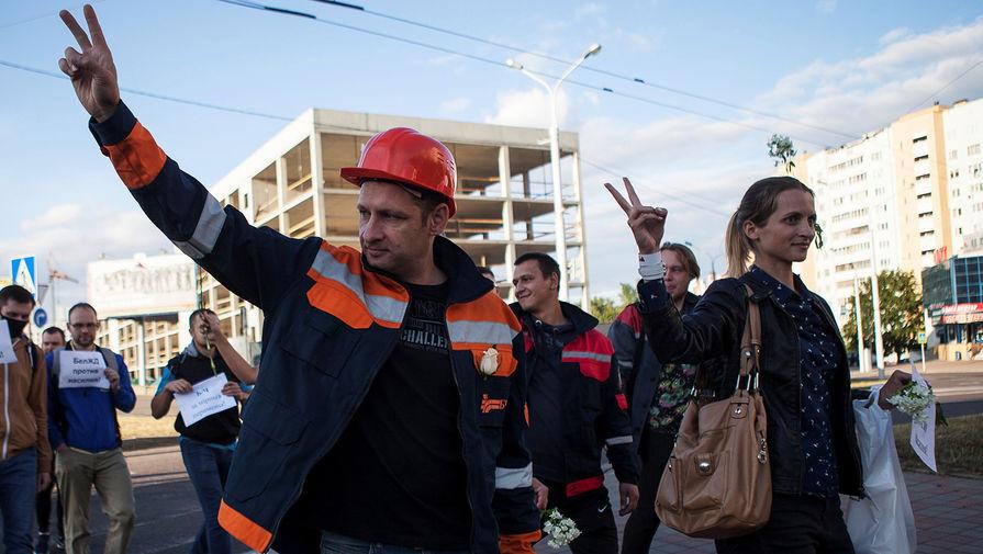 Лукашенко назвал забастовки на предприятиях выгодными для России, ФРГ и США