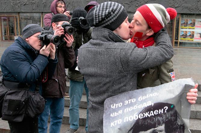 Гомосексуализм петербург
