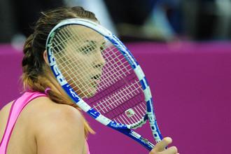 Анастасия Павлюченкова проиграла Елене Янкович в 1/2 финала Кубка Федерации