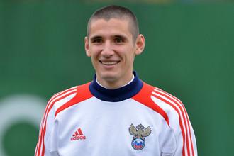 Капитан сборной России Тарас Бурлак
