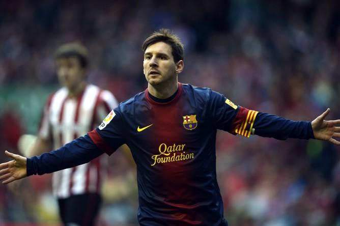 Месси установил новый рекорд чемпионатов Испании по количеству мячей, забитых игроком на чужих полях за один сезон