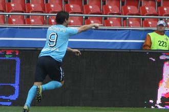 Луис Кабальеро реализовал два пенальти