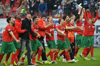 После 18-го тура «Локомотив» единолично возглавил турнирную таблицу чемпионата России по футболу