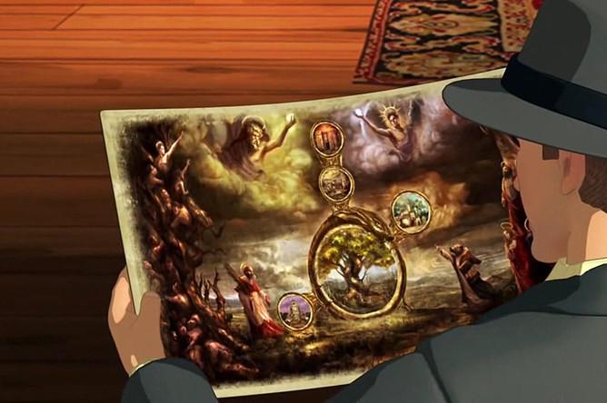 Кадр из игры «Broken Sword 5: The Serpent's Curse»