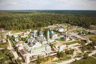 Вид города Козельск