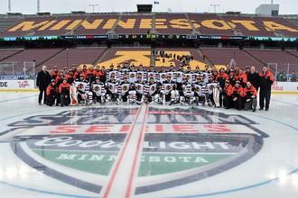 «Чикаго Блэкхоукс» уже сделал командный снимок в преддверии матча с «Миннесотой Уайлд»