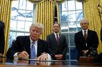Трамп подписал указ о выходе США из Транстихоокеанского партнерства