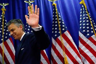 Кандидат в президенты США на выборах 2012 года Джон Хантсман