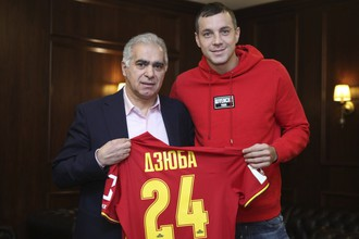 Артем Дзюба будет лидером атак тульского «Арсенала»