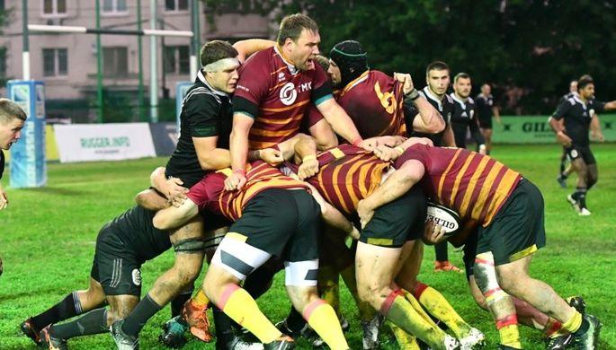 Матч чемпионата России по регби «Слава» — «Кубань»