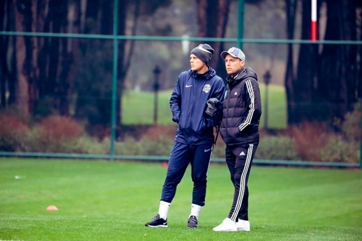 Александр Кокорин и Денис Глушаков