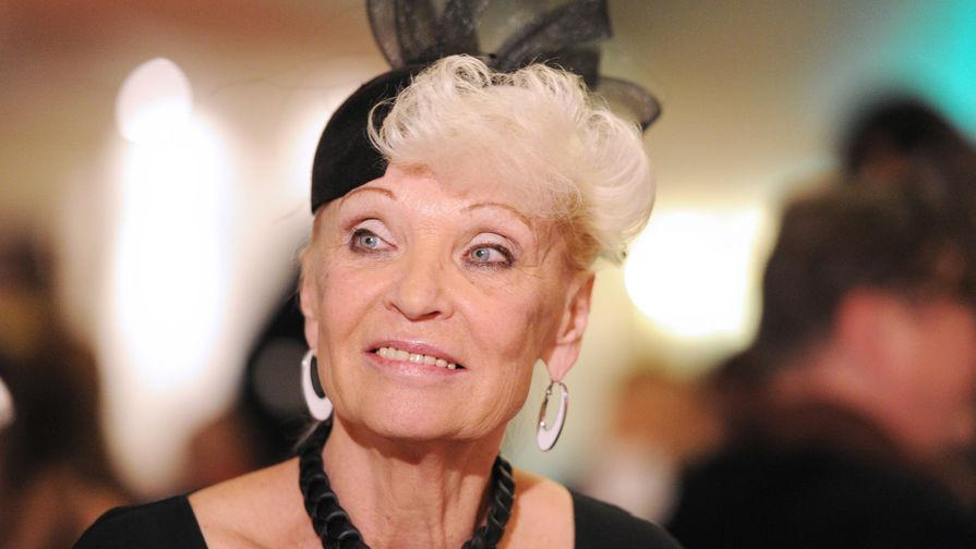 Актриса Светлана Светличная на благотворительном вечере, 2011 год