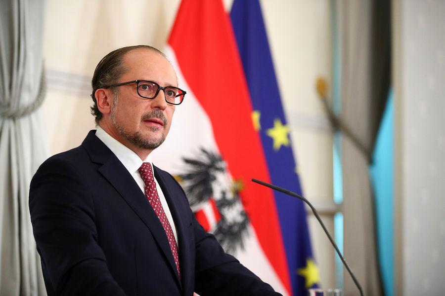 Канцлер Австрии Александр Шалленберг