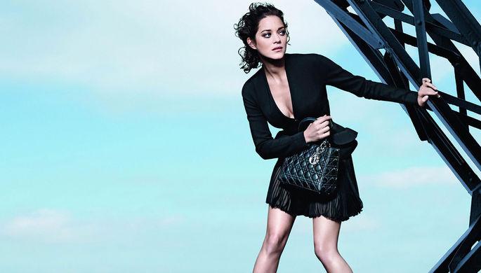 Марион Котийяр — лицо маркетинговой кампании Lady Dior