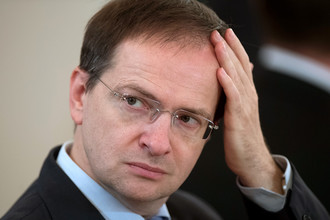 Министр культуры РФ Владимир Мединский