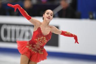 Чемпионка Европы Алина Загитова