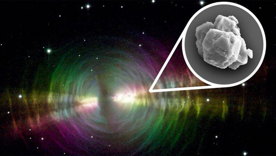 Пылинка возрастом 7 млрд лет найдена в австралийском метеорите