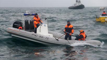 Дозаправку разбившегося Ту-154 перенесли из Моздока в Адлер из-за непогоды
