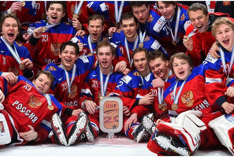 Сборная России по хоккею завоевала бронзу молодежного ЧМ