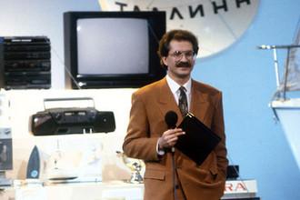Владислав Листьев- ведущий капитал-шоу «Поле чудес» на Центральном телевидении, 1991 год