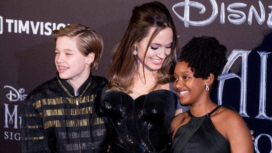 Анджелина Джоли подверглась критике из-за высказывания о приемной дочери