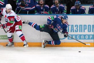 «Локомотив» держался молодцом только в первом периоде