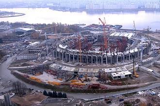 Стадион в Санкт-Петербурге бьет все рекорды стоимости строительства