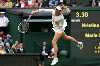 Мария Шарапова одержала победу в матче первого круга Уимблдона